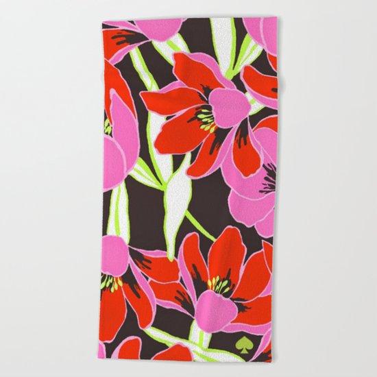 Kate Spade - Floral 4 Beach Towel