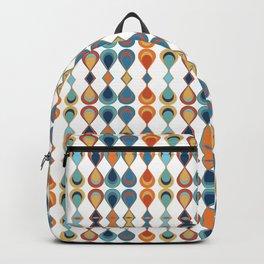 Mid Century Drop Pattern Backpack