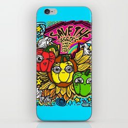 Save the Veggies! - Bellpeppers iPhone Skin