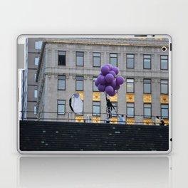 Purple balloon Laptop & iPad Skin