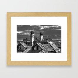 Rooftops Framed Art Print