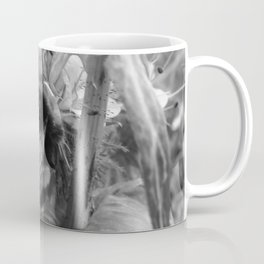 Bee Friends #2 (Black and White) Coffee Mug