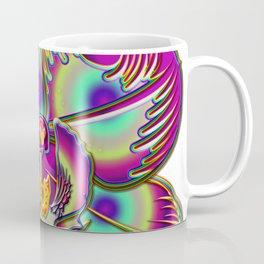 Immortal Orchid Flower Abstract Coffee Mug
