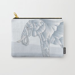 Stone Elephant Carry-All Pouch