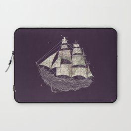 Wherever the wind blows Laptop Sleeve