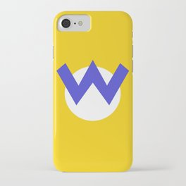 Nintendo Wario iPhone Case