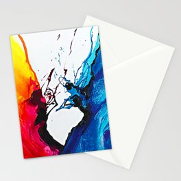 Abstract Art Britto - QB292 Art Print Stationery Cards
