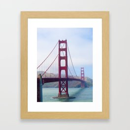 Golden Gate Bridge - San Francisco, California Framed Art Print