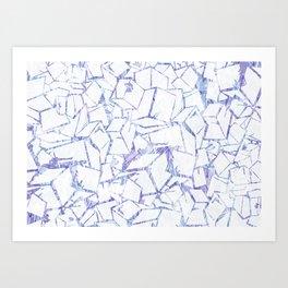 Cuboids Art Print