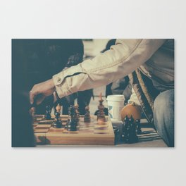 Pawns Canvas Print