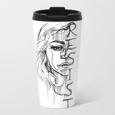Resist Metal Travel Mug