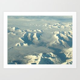Near the Arctic Art Print