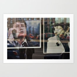 Moscow Opera Reflected II Art Print