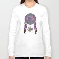 dreamcatcher Long Sleeve T-shirts featuring Dreamcatcher by Starstuff