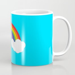 Rainbow Clouds Coffee Mug