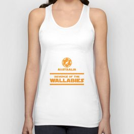 Australia Rugby - Revenge Of The Wallabies Unisex Tank Top