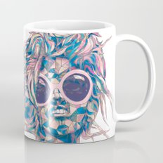 Pastel Light Four Eyes Coffee Mug