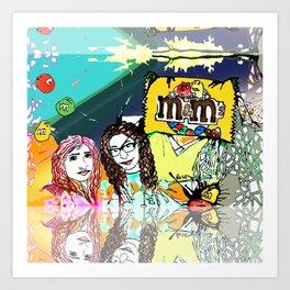 Neta Art Print