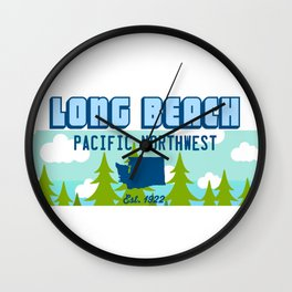 Long Beach Washington State. Wall Clock