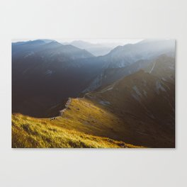 Just go - Landscape and Nature Photography Canvas Print