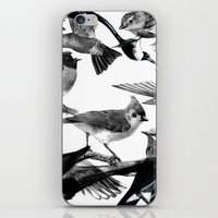 A Volery of Birds iPhone Skin