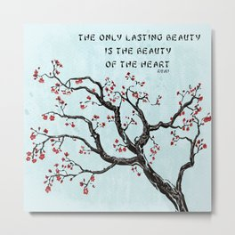 Beauty of the Heart Metal Print