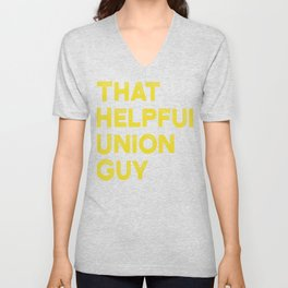 Union Strong and Solidarity  - Union Thug Unisex V-Neck