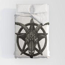 Baphomet Satanic Church Goat Head Comforters