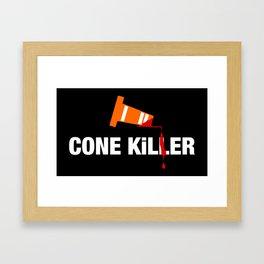 Cone Killer v1 HQvector Framed Art Print