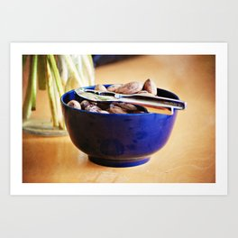 Still Life with Pecans Art Print