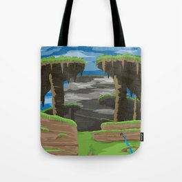 Gaur Plains (Xenoblade Chronicles) Travel Poster Tote Bag