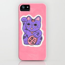 Manekineko 2 iPhone Case
