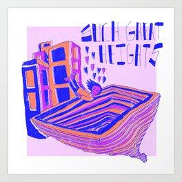 Vertigo X Postal Service Art Print