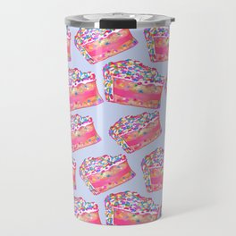 Birthday Cake - Blue BG Travel Mug