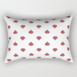 Pixel Art Pixel Heart Rectangular Pillow