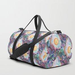 egg tropical pattern Duffle Bag