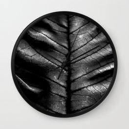 Dragon Spine (Black Version) Wall Clock