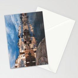 Nantes Riverside Scenery - Winter Blue Fantasy Stationery Cards
