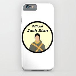 Official Josh Stan iPhone Case