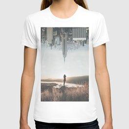 Between Earth & City T-shirt
