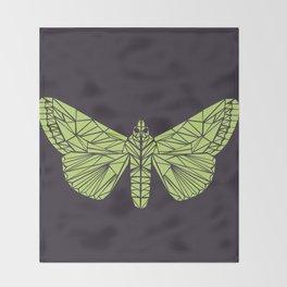 The envy of the moth - Geometric design Throw Blanket