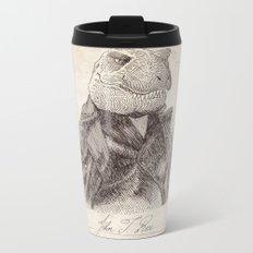 John T. Rex Metal Travel Mug