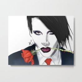Manson Metal Print