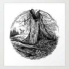 Old Tree Art Print