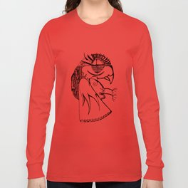 A kind of parrot Long Sleeve T-shirt