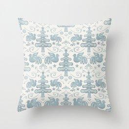 Hygge - Scandinavian Winter Throw Pillow