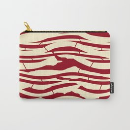 ZEBRA RED TTY N12 Carry-All Pouch