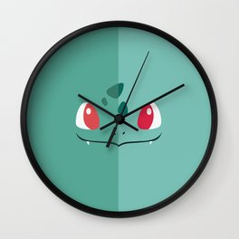bulbasaurr Wall Clock