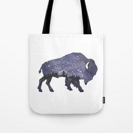 Starry Night Buffalo Tote Bag