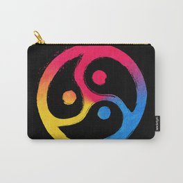 BDSM Triskelion Pansexual Pride Carry-All Pouch
